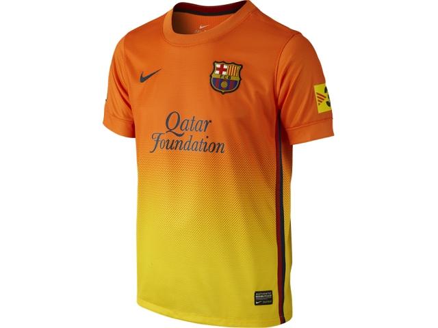 9492642d2 RBARC69J Barcelona Away Shirt Nike Boys Jersey 12 13 Kids Kit on ...