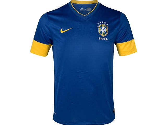 88aed2af17b RBRA17 Brazil away shirt Nike 2012 13 jersey on PopScreen