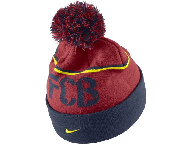 efeb2337c3d HBARC68  FC BARCELONA - NIKE WINTER HAT - ISS - FAN STORE - CAPS   HATS - WINTER  HATS - ISS-SPORTS.COM - OFFICIAL SOCCER JERSEYS - ISS - INTERNET SPORT ...