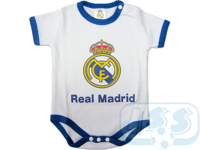 Jreal Real Madrid Brand New Official Baby Bodysuit